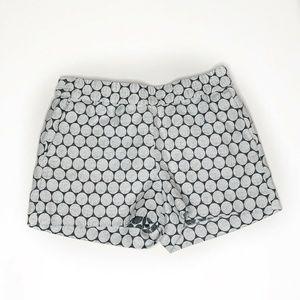J.CREW Shorts Polka Dot Boardwalk Pull (BB42)
